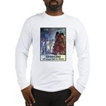 Fight for Liberty Poster Art Long Sleeve T-Shirt