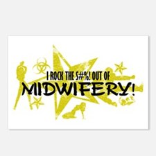 I ROCK THE S#%! - MIDWIFERY Postcards (Package of