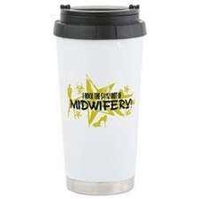 I ROCK THE S#%! - MIDWIFERY Travel Mug