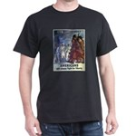 Fight for Liberty Poster Art (Front) Black T-Shirt