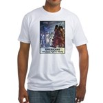 Fight for Liberty Poster Art Fitted T-Shirt