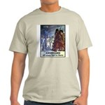 Fight for Liberty Poster Art Ash Grey T-Shirt