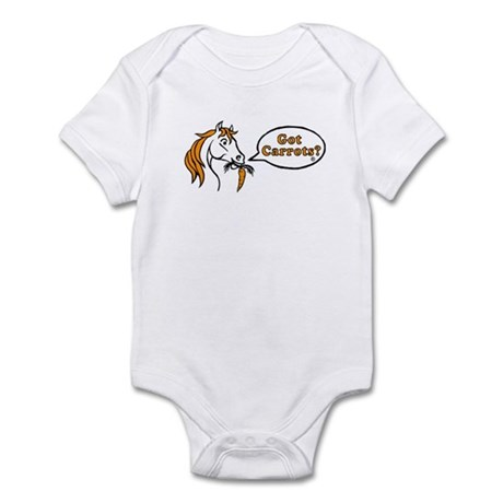 Got Carrots? Infant Bodysuit