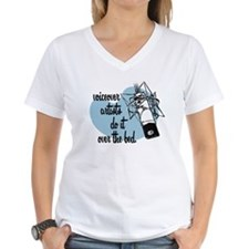VO artists do it over the bed Shirt