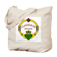 Claddagh Pipe Band Tote Bag