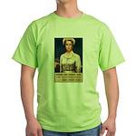 Nurses Needed Now Poster Art Green T-Shirt