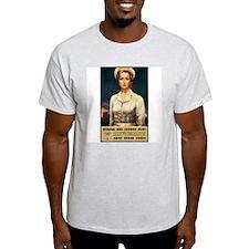 Nurses Needed Now Poster Art Ash Grey T-Shirt