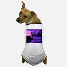 PURPLE SAX Dog T-Shirt