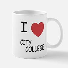 I heart city college Mug