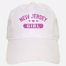New Jersey Girl Baseball Baseball Cap