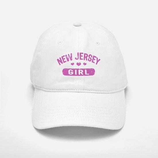 New Jersey Girl Baseball Baseball Cap