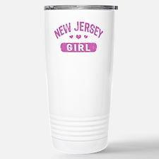 New Jersey Girl Stainless Steel Travel Mug