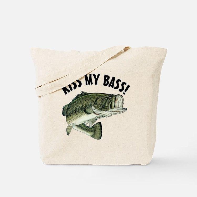 Kiss My Bass Tote Bag