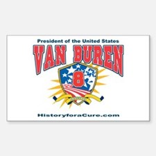 President Martin Van Buren Decal