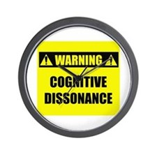 WARNING: Cognitive Dissonance Wall Clock