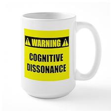 WARNING: Cognitive Dissonance Mug