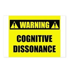 WARNING: Cognitive Dissonance Postcards (Package o