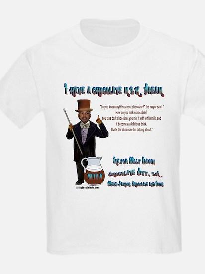 Nagin's Chocolate MLK Dream<br> Kids T-Shirt