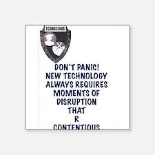 New Technology Sticker