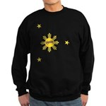 Flipside Sun and Stars Sweatshirt (dark)