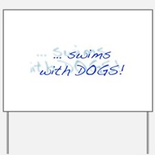 LD Swim Club 1 Yard Sign