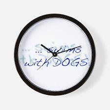 LD Swim Club 1 Wall Clock