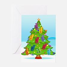 Euphonium Christmas Greeting Card