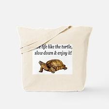 LOVE A TURTLE Tote Bag