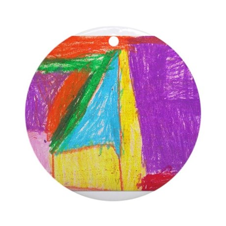 Kendall Holle Ornament (Round)