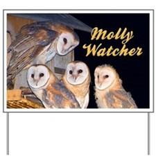 Four Owlets Yard Sign