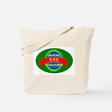 FTF GREEN OVAL Tote Bag