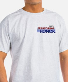 Restoring Honor Rally 8-28 Light Colored T-Shirt