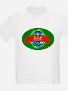 FTF GREEN OVAL Kids T-Shirt
