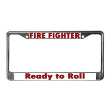 """Ready to Roll"" License Plate Frame"
