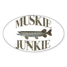 MUSKIE JUNKIE Decal