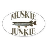 Musky stickers Bumper Stickers