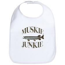 MUSKIE JUNKIE Bib
