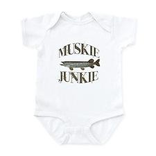 MUSKIE JUNKIE Onesie