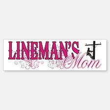 Lineman's Mom Sticker (Bumper)