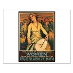 Women Power Poster Art Small Poster
