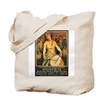 Women Power Poster Art Tote Bag