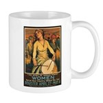Women Power Poster Art Mug