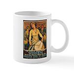 Women Power Poster Art Mug