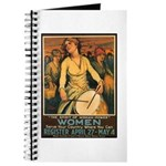 Women Power Poster Art Journal