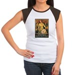 Women Power Poster Art (Front) Women's Cap Sleeve