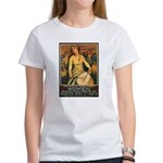 Women Power Poster Art (Front) Women's T-Shirt