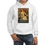Women Power Poster Art (Front) Hooded Sweatshirt