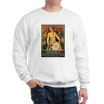 Women Power Poster Art (Front) Sweatshirt
