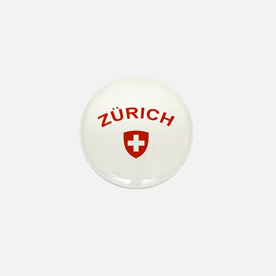 Zurich Mini Button