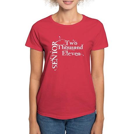 Fancy Senior 2011 Women's Dark T-Shirt